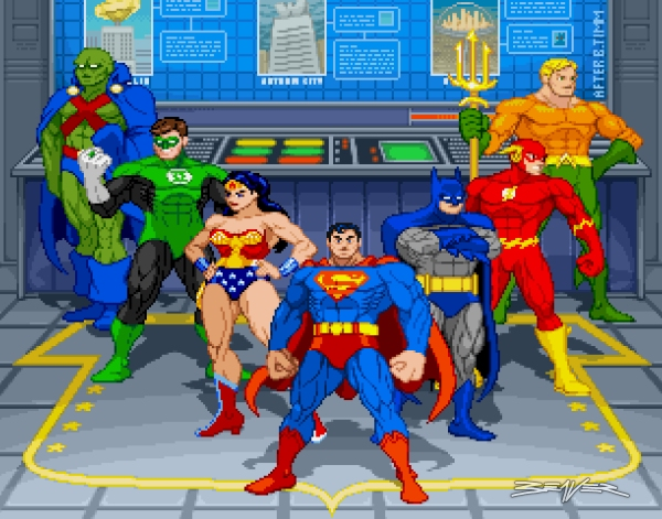 Justice League Group 48