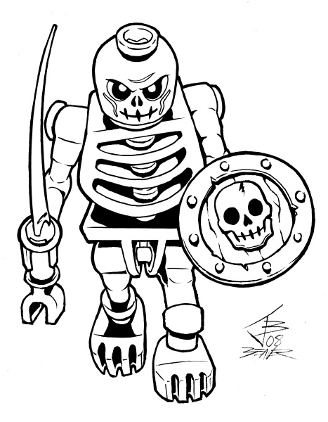 Ninjago skeleton coloring pages ~ 1000+ images about {parties. kids.} Ninjago. on Pinterest ...