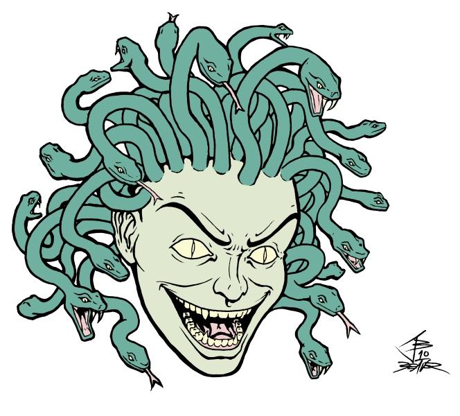 Illmosis Art: Medusa - Castlevania