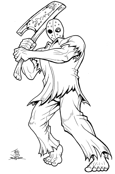 Great Michael Myers Coloring Pages Ideas - Wordpress Themes Ideas ...