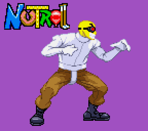 Illmosis Art Nutroll Fighting Game Style Sprites